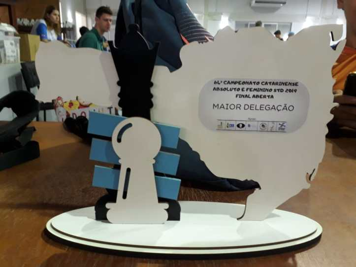 troféu maior delegaçao