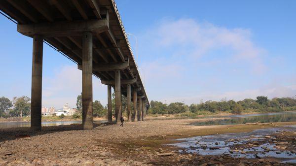 estiagem rio iguaçu ponte domício scaramela 1