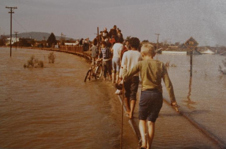 Enchente 1983 - União da Vitória-PR