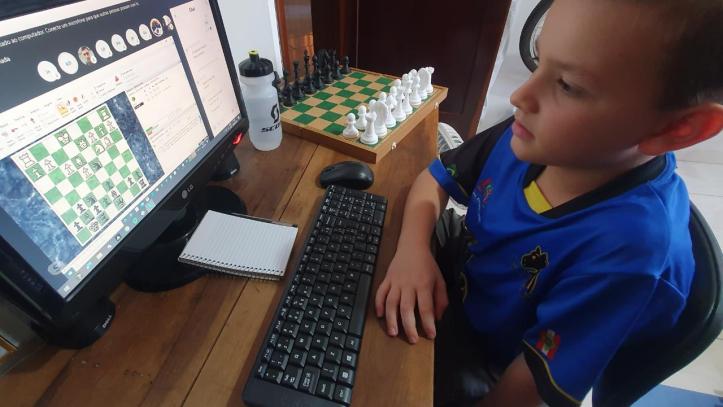 xadrez internet